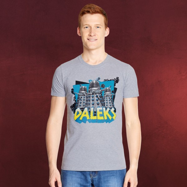 Doctor Who - Daleks T-Shirt grau