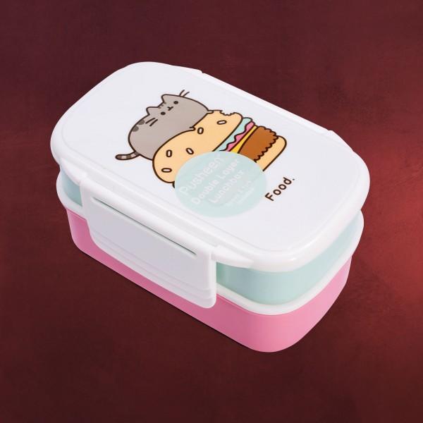 Pusheen - Doppelstöckige Lunchbox