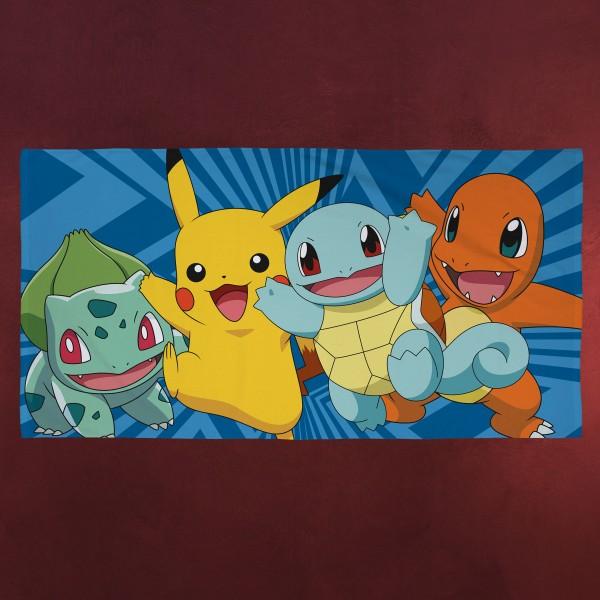 Pokemon - Starter Pokemon Badetuch