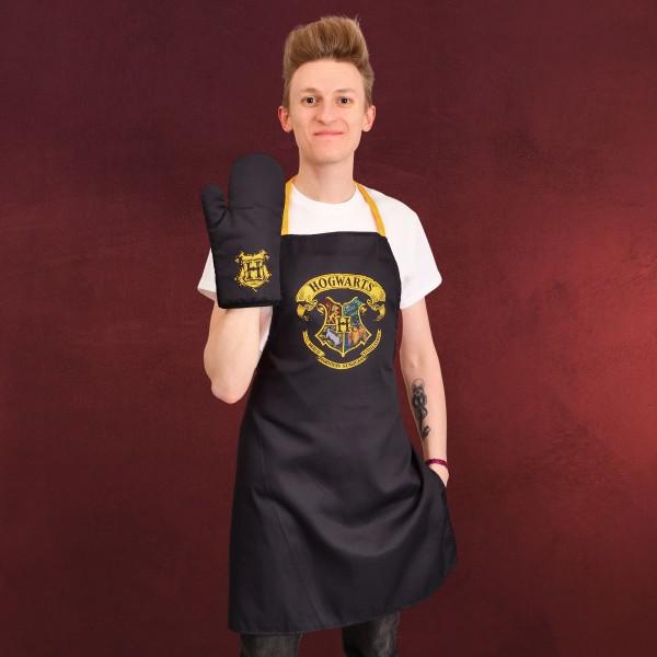 Harry Potter - Hogwarts Schürze mit Ofenhandschuh