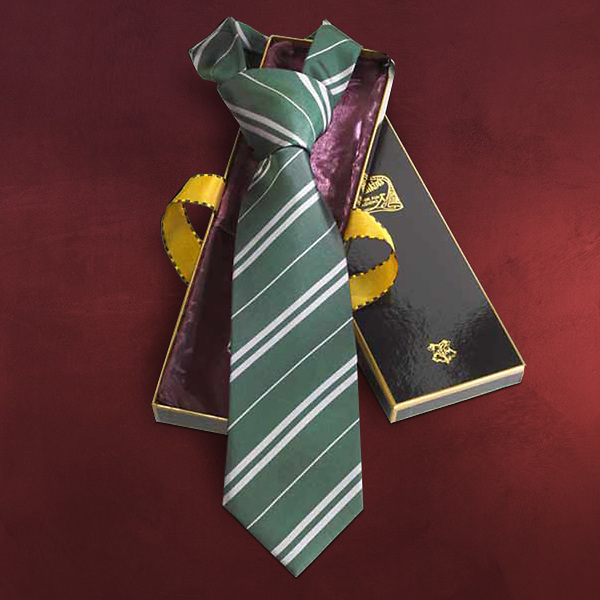Harry Potter - Slytherin Krawatte Seide