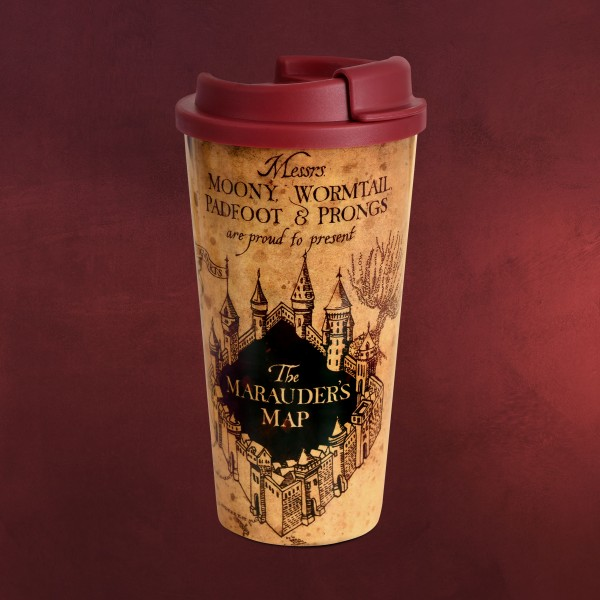 Harry Potter - Karte des Rumtreibers To Go Becher