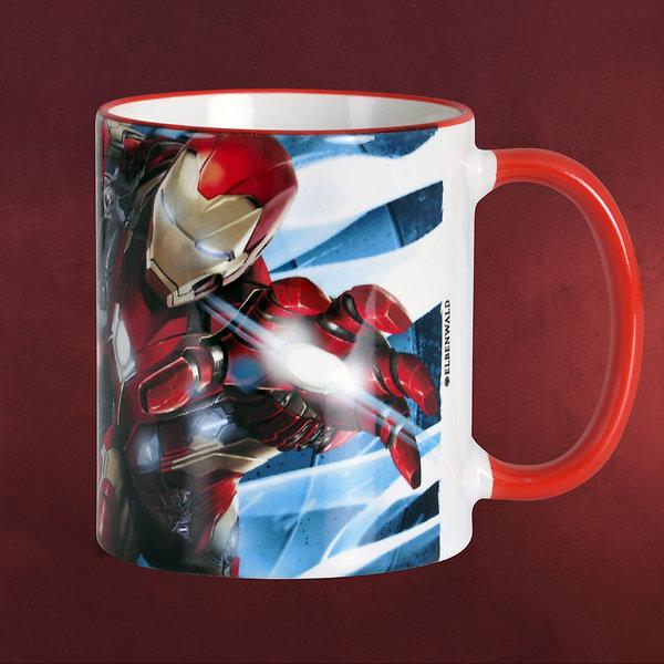 Civil War - Iron Man War Machine Tasse