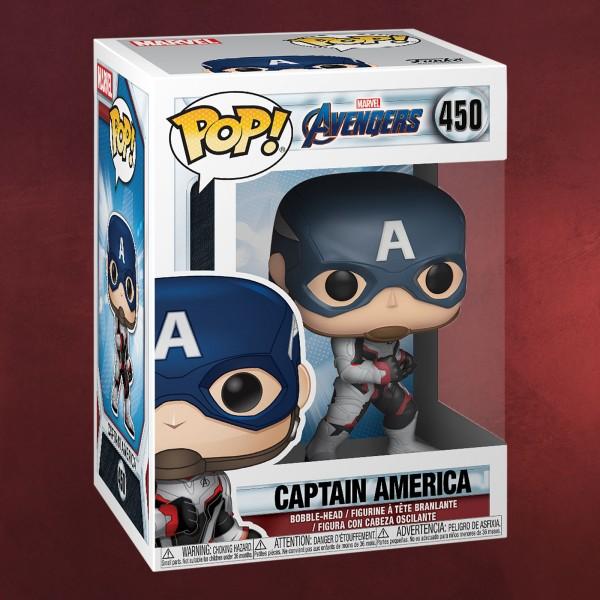 Avengers - Captain America Endgame Funko Pop Wackelkopf-Figur