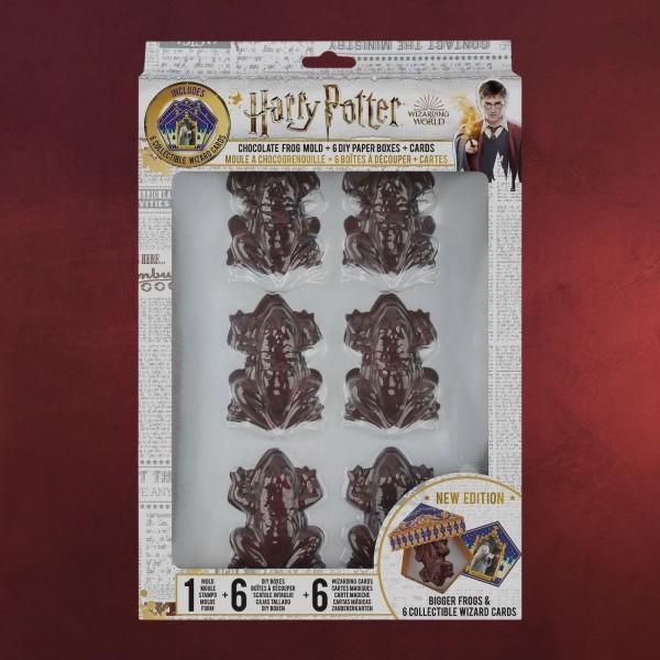 Schokofrosch Pralinenform Set mit Sammelkarten - Harry Potter