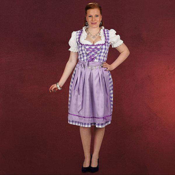 Dirndl Lilli - Kostüm Damen lila