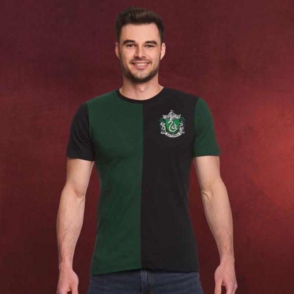 Harry Potter - Slytherin Tournament T-Shirt grün-schwarz
