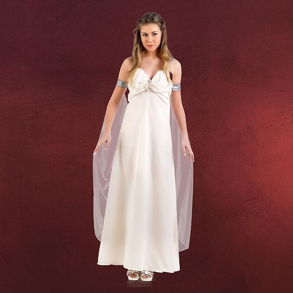 Mutter der Drachen Hochzeitskleid beige