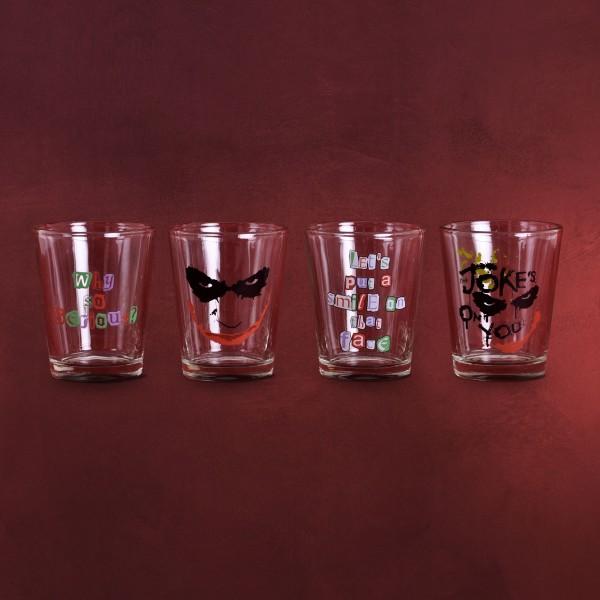 Batman - The Dark Knight Joker Gläserset