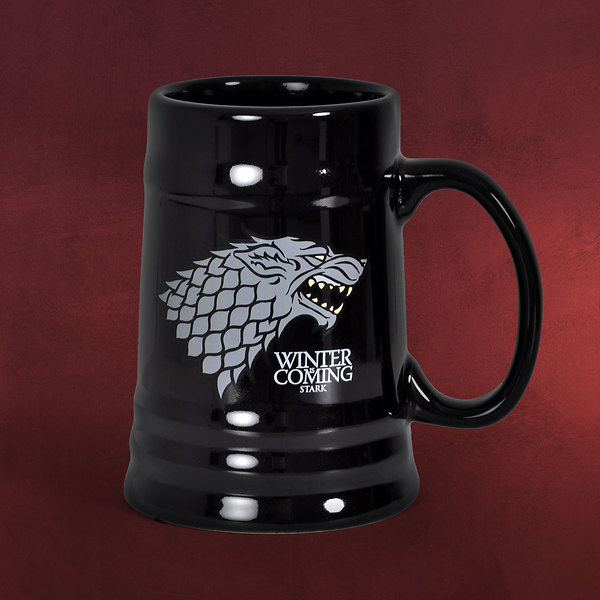 Game of Thrones - House Stark Krug schwarz