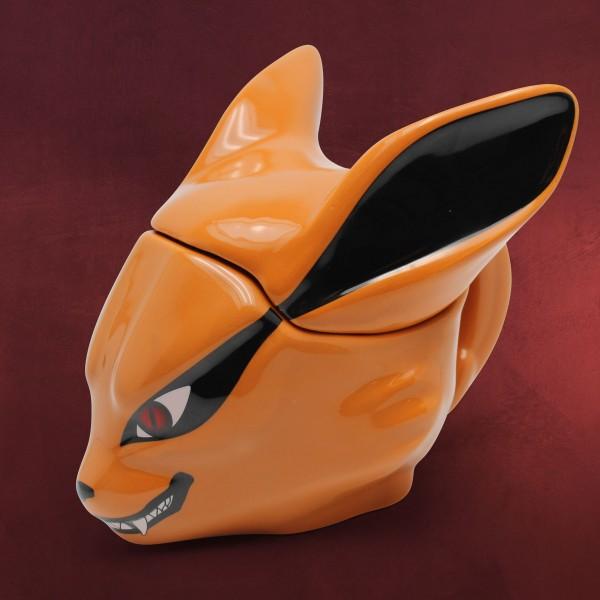 Naruto - Kyubi 3D Tasse mit Deckel