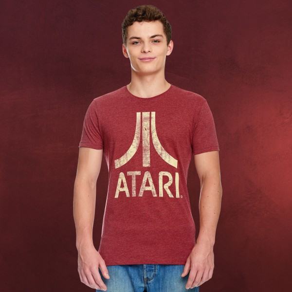 Atari - Logo T-Shirt rot