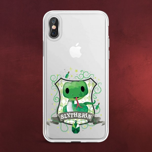 Harry Potter - Magical Slytherin iPhone X / XS Handyhülle Silikon transparent