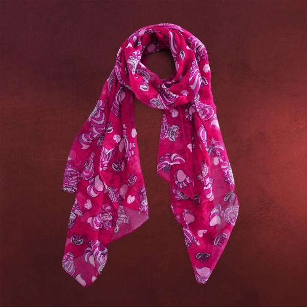 Alice im Wunderland - Grinsekatze Schal pink