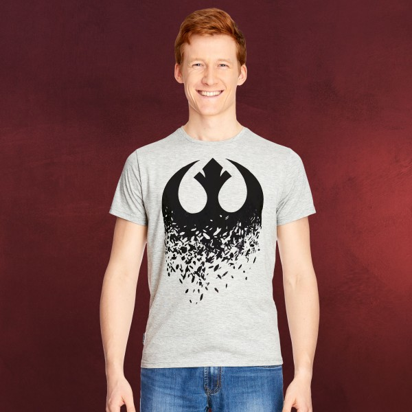 Star Wars - Rebellen Broken Logo T-Shirt