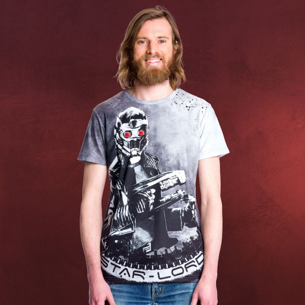 Guardians of the Galaxy - Epic Star-Lord Allover T-Shirt