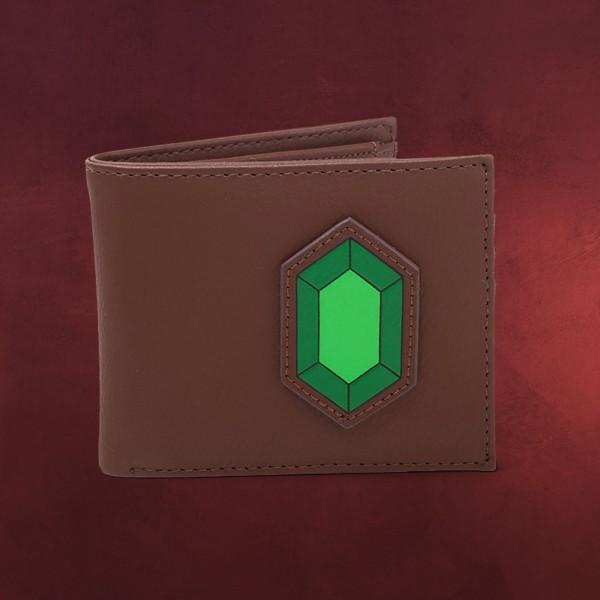 Zelda - Grüner Rubin Geldbörse