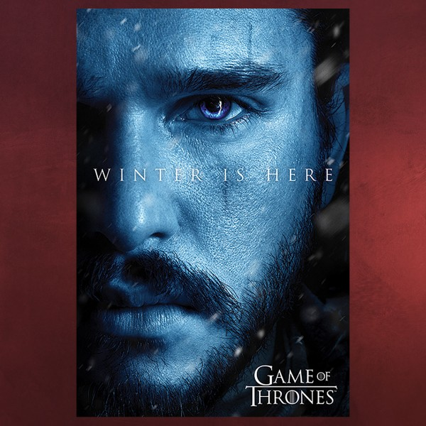 Game of Thrones - Jon Snow Winter is Here Maxi Poster