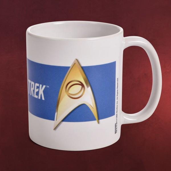 Star Trek - Wissenschaft Abzeichen Tasse