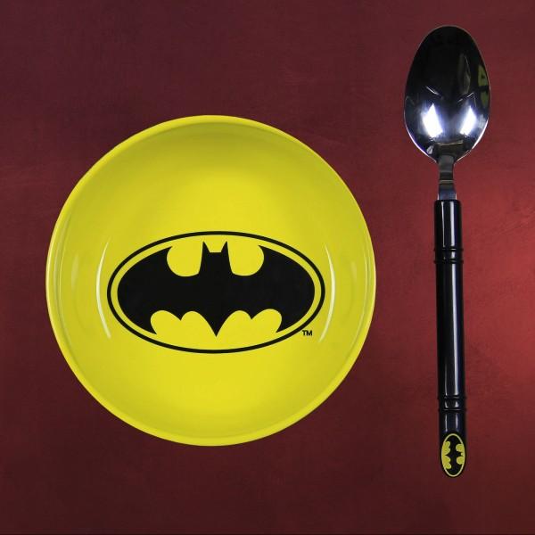 Batman - Müslischale mit Löffel