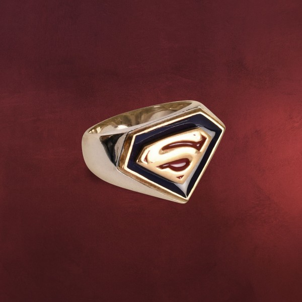 Superman Returns Symbol Ring