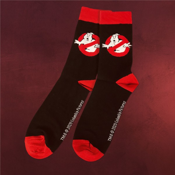 Ghostbusters - Logo Socken schwarz