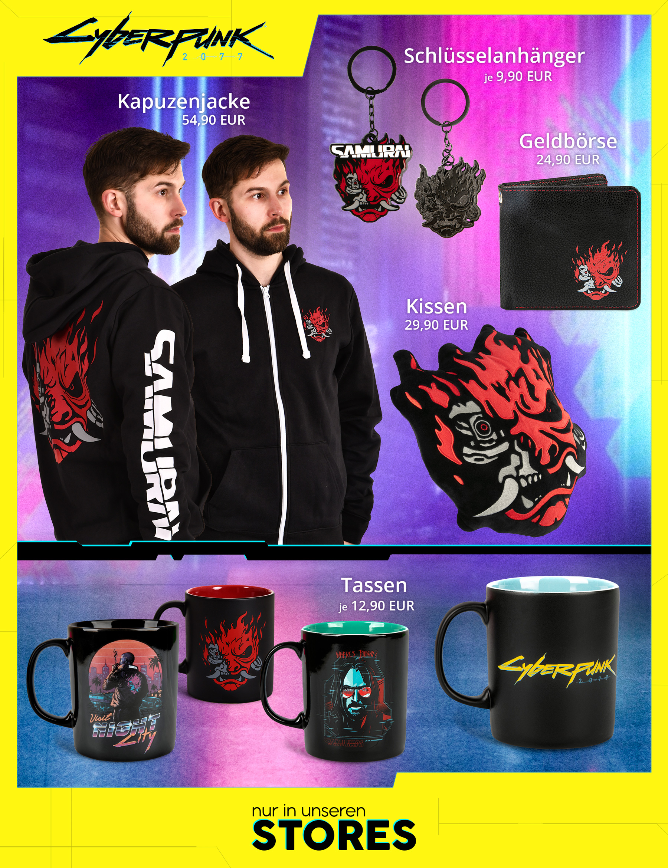 Cyberpunk 2077 Store Produkte