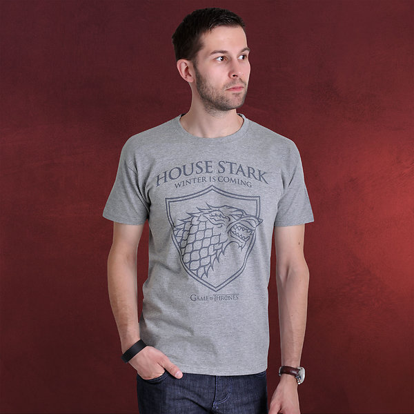 Game of Thrones - Schattenwolf T-Shirt grau