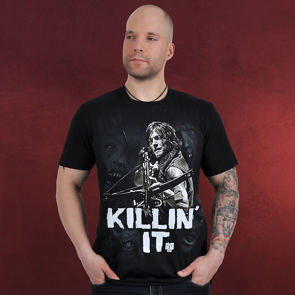 Walking Dead - Killin'It T-Shirt