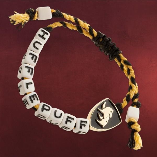 Harry Potter - Hufflepuff Cube Bead Armband