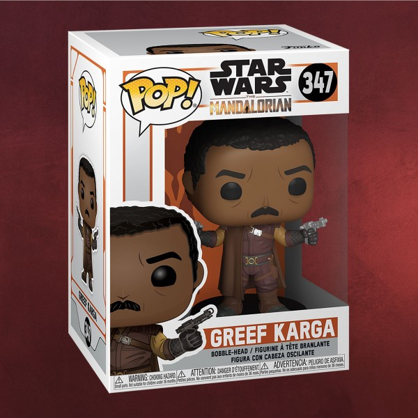 Greef Karga Funko Pop Wackelkopf-Figur - Star Wars The Mandalorian