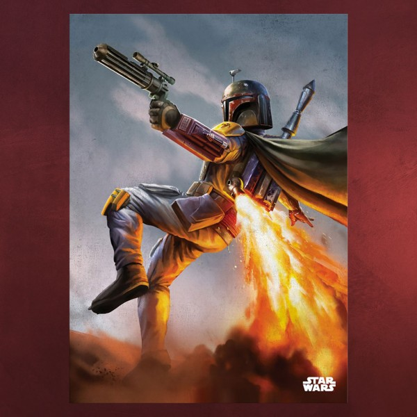 Star Wars - Boba Fett Metall Poster