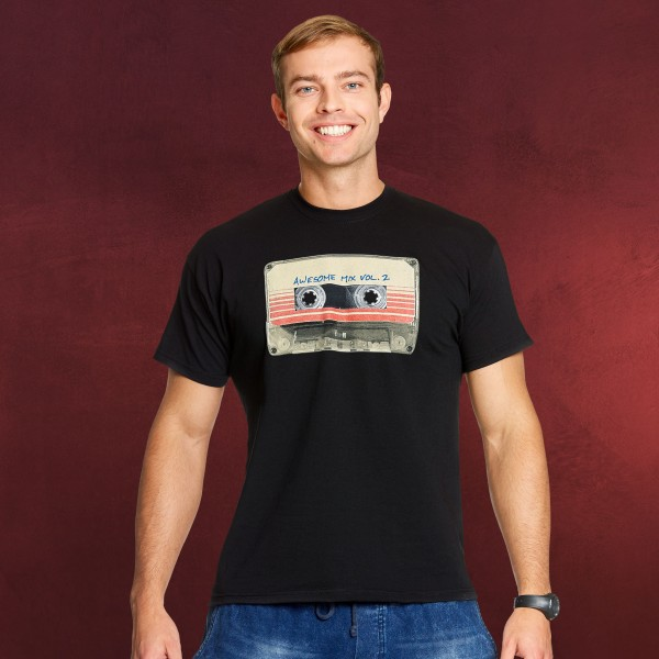 Guardians of the Galaxy - Tape T-Shirt schwarz