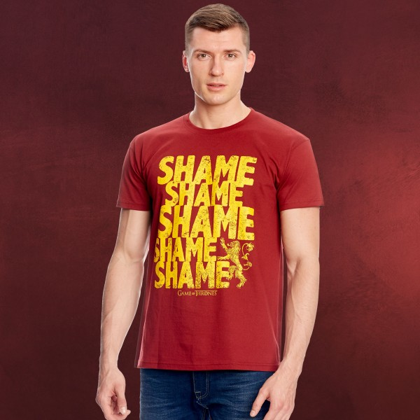 Game of Thrones - Walk of Shame T-Shirt rot
