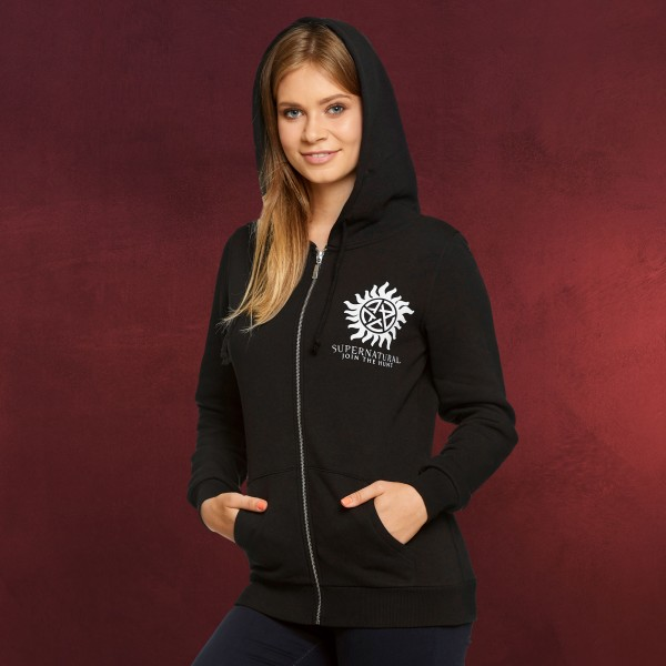 Supernatural - Saving People Hunting Things Kapuzenjacke Damen