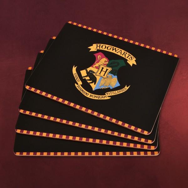 Harry Potter - Hogwarts Wappen Tischset 4-teilig