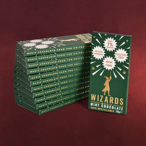 Wizards Magic - Mint Schokolade 12 Tafeln