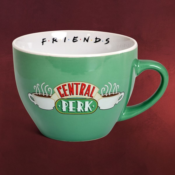 Friends - Central Perk Tasse mit Schablone