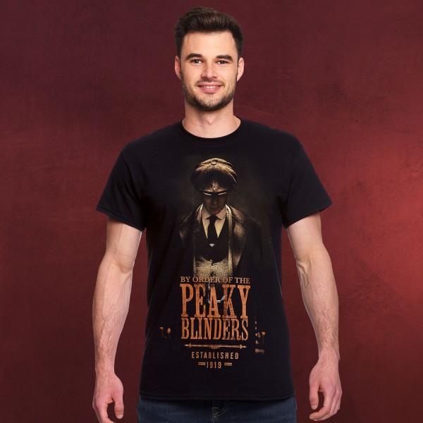Peaky Blinders - Established 1919 T-Shirt schwarz
