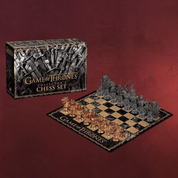 Game of Thrones - Winter Is Here Schachspiel Collectors Edition