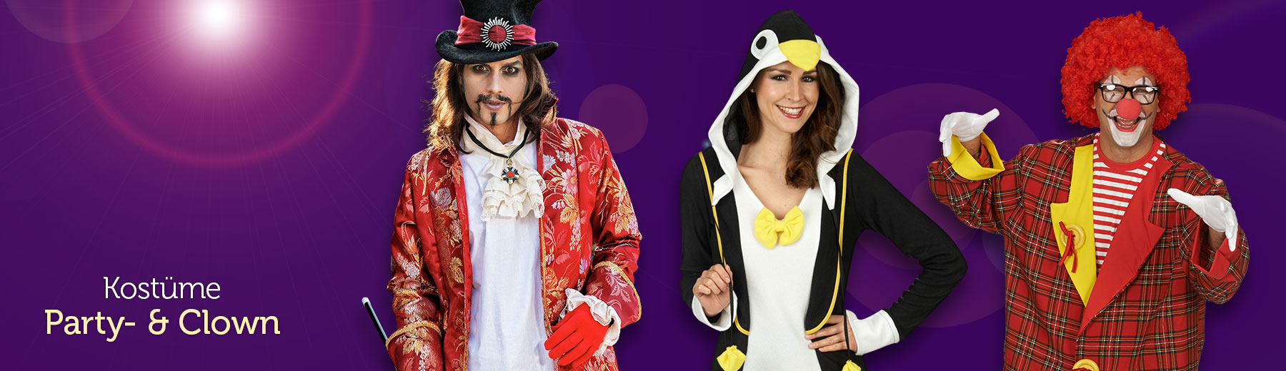 Party- & Clown Kostüme
