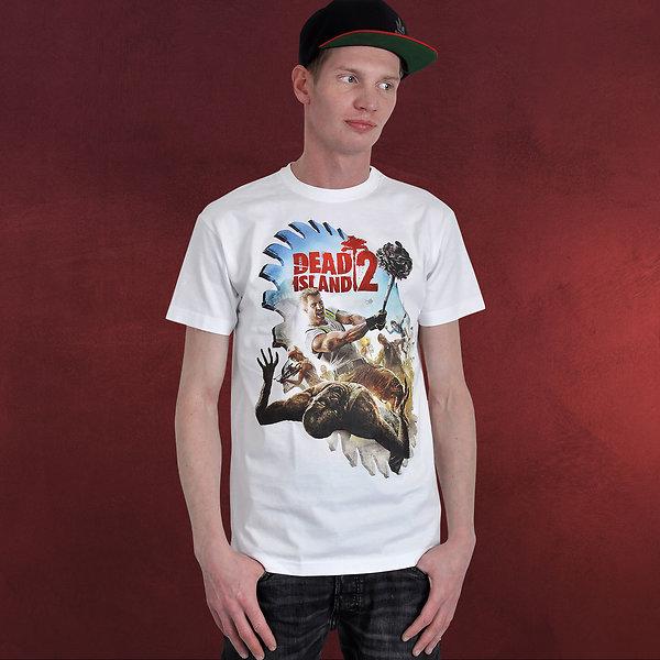 Dead Island - Saw Blade T-Shirt weiß