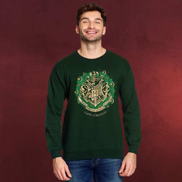 Harry Potter - Happy Hogwarts Sweater grün