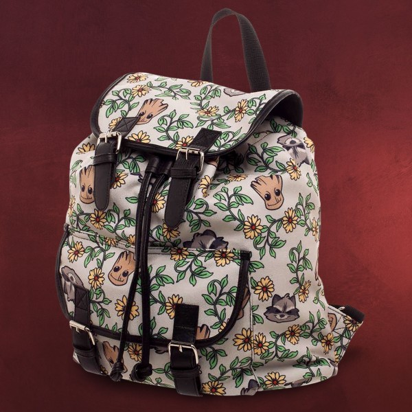 Guardians of the Galaxy - Floral Groot and Rocket Rucksack