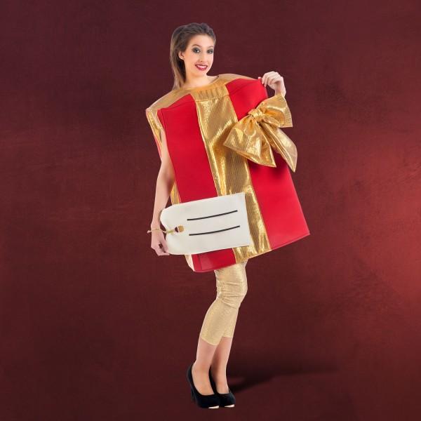 Weihnachtskostüm Geschenkpaket
