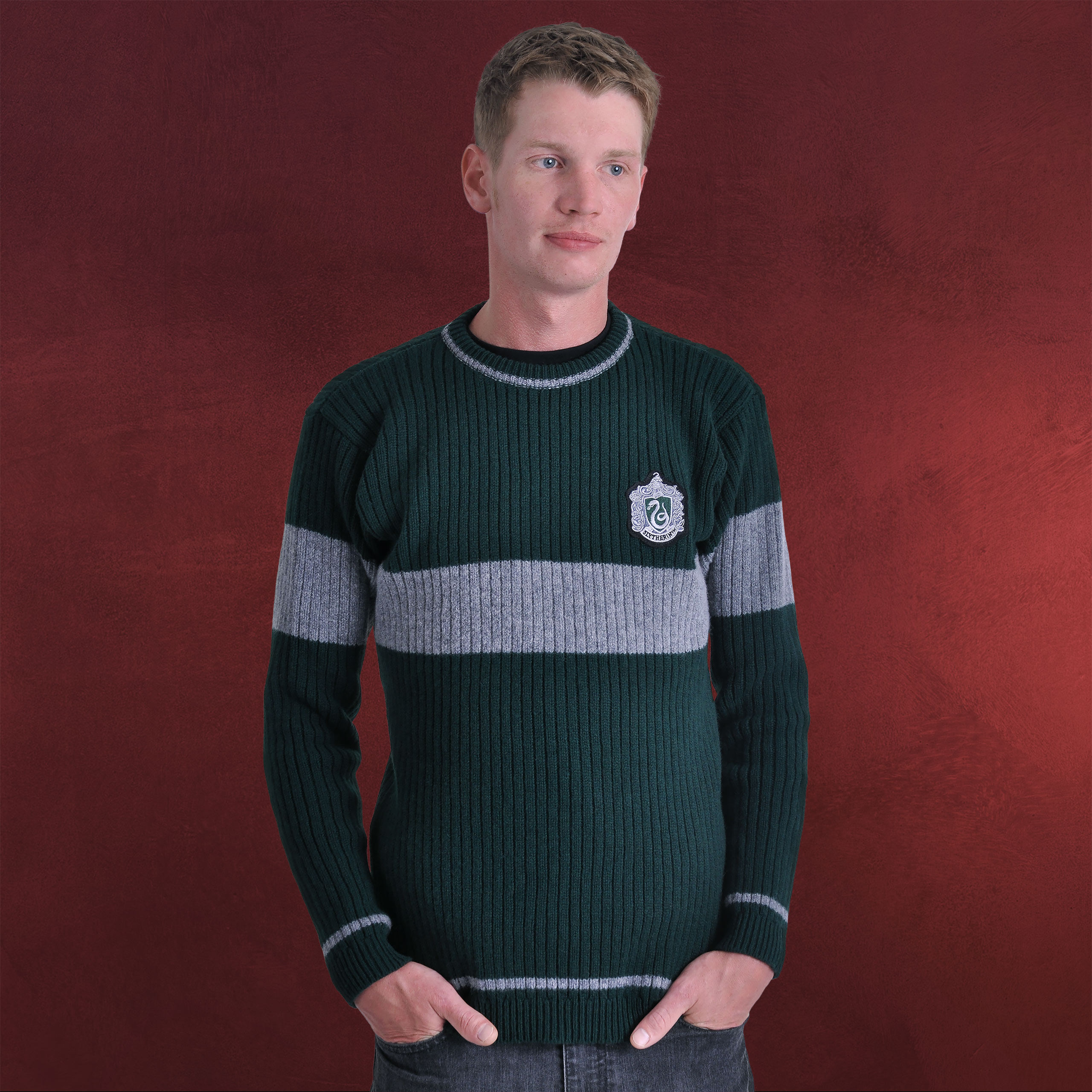 5af9c9b9f2f Harry Potter - Quidditch Sweater Slytherin