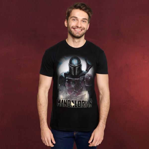 The Mandalorian Fighter T-Shirt schwarz - Star Wars