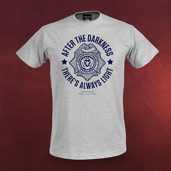Gotham - GCPD T-Shirt grau