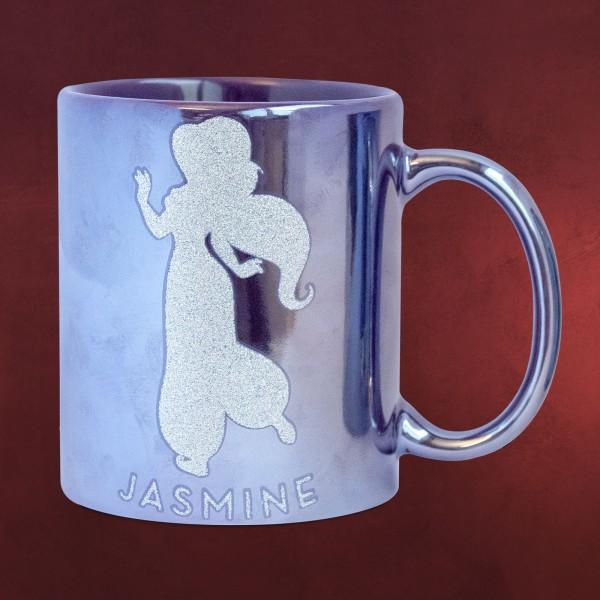 Aladdin - Jasmin Glitter Metallic Tasse