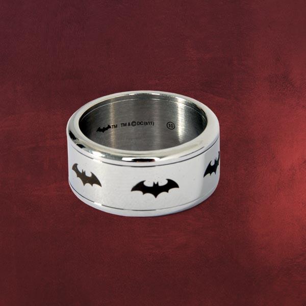 Batman Symbol Ring